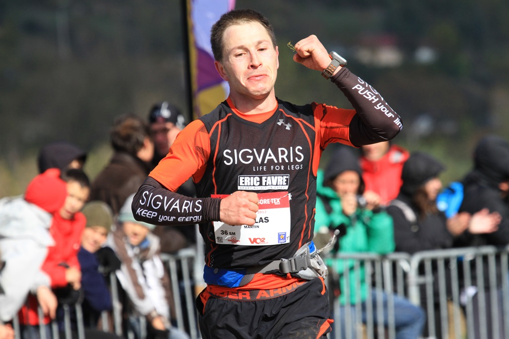 2012 Templiers Nicolas Martin arrivée