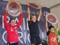 Le podium femmes des Templiers 2013