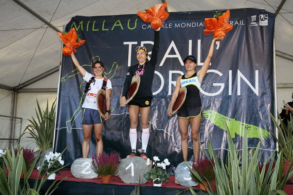 Le podium femmes
