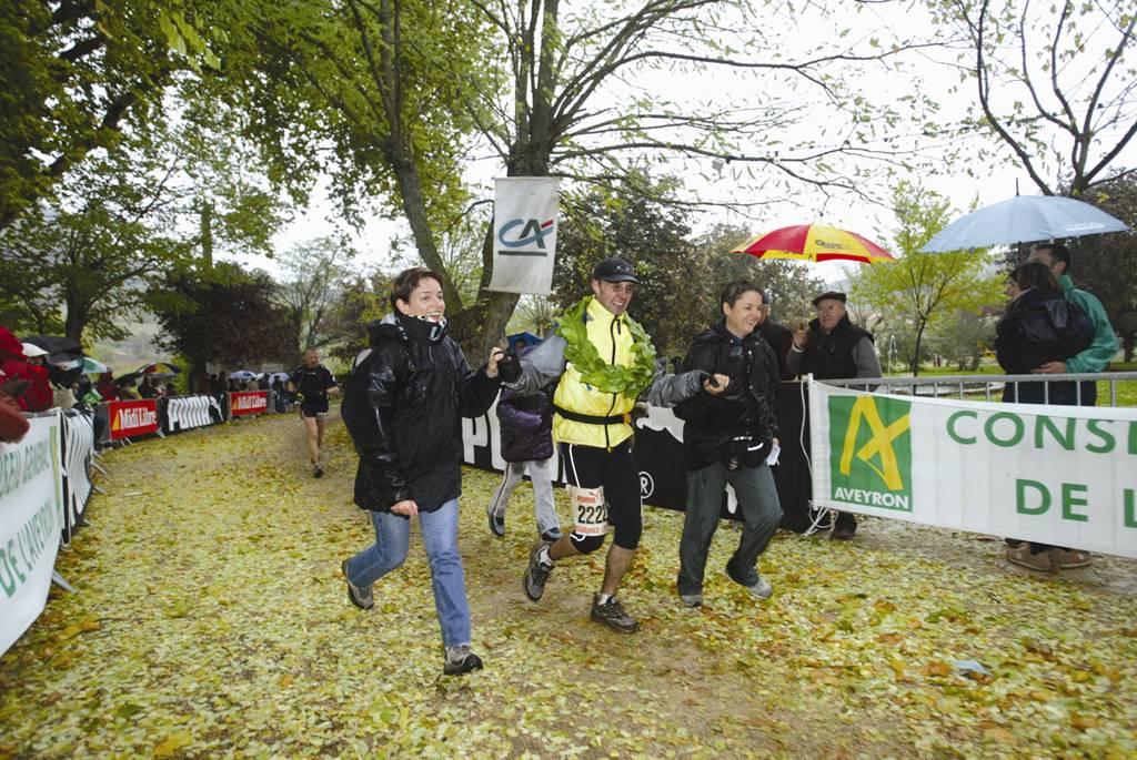 2003 templiers arrivee Arnaud Sauveplane