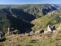 Les falaises du Rajol et Roquesaltes